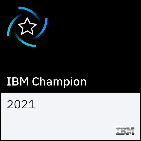 Ocenění IBM Champion 2021